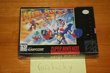 Mega Man X3 (SNES Super Nintendo) NEW SEALED V-SEAM, SUPER RARE GRAIL, INSANE!