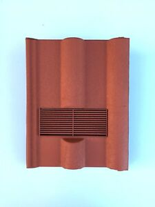 Roof-Tile-Vent-To-Fit-Marley-Redland-50-Double-Roman-Terracotta-8-Colours