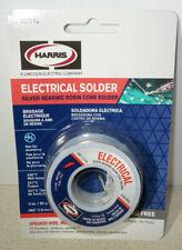 Harris Lead Free Silver Bearing Rosin Core Electrical Solder 3 Oz 062 Inch