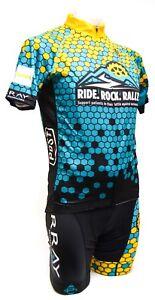 2fa5540c8 Panache Ride Rock Rally SS Cycling Kit w  Socks MEDIUM Road Mountain ...