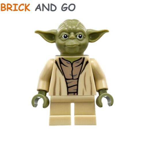 NEUF NEW olive green LEGO Minifigure Figurine Star Wars SW0707 Maître Yoda