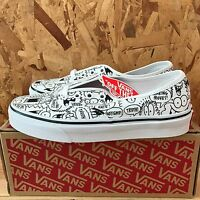 Vans Authentic Truth Kevin Lyons True White Black Size 5 In Box