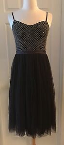 BNWT Needle /& Thread Coppelia bridesmaid dress Purple Aubergine size 12//size 14