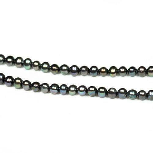 Rainbow Freshwater Pearl Rond Patate Perles 6-7 mm 50 Pcs ART HOBBY Bijoux