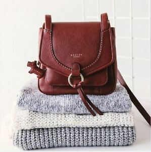 Image is loading Radley-Sunray-Gardens-Paprika-Red-Small-Leather-Cross- 59d7caf9b66b8