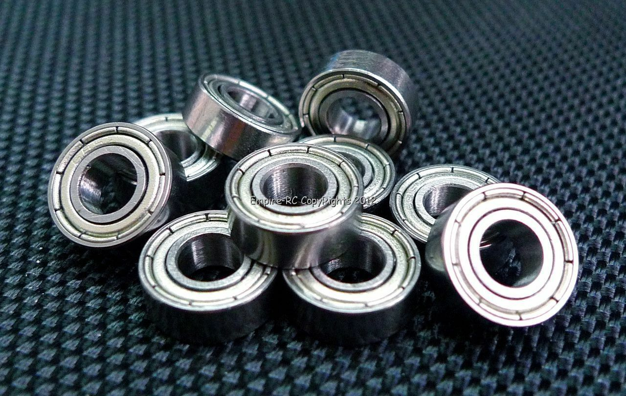(1000 Pcs) Mr115zz (5x11x4 mm) Recubierto de Metal Rodamientos Mr115z