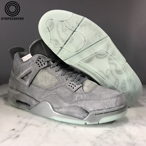 c964c56d29c AIR JORDAN 4 IV RETRO KAWS - COOL GREY/WHITE - 930155-003 | eBay