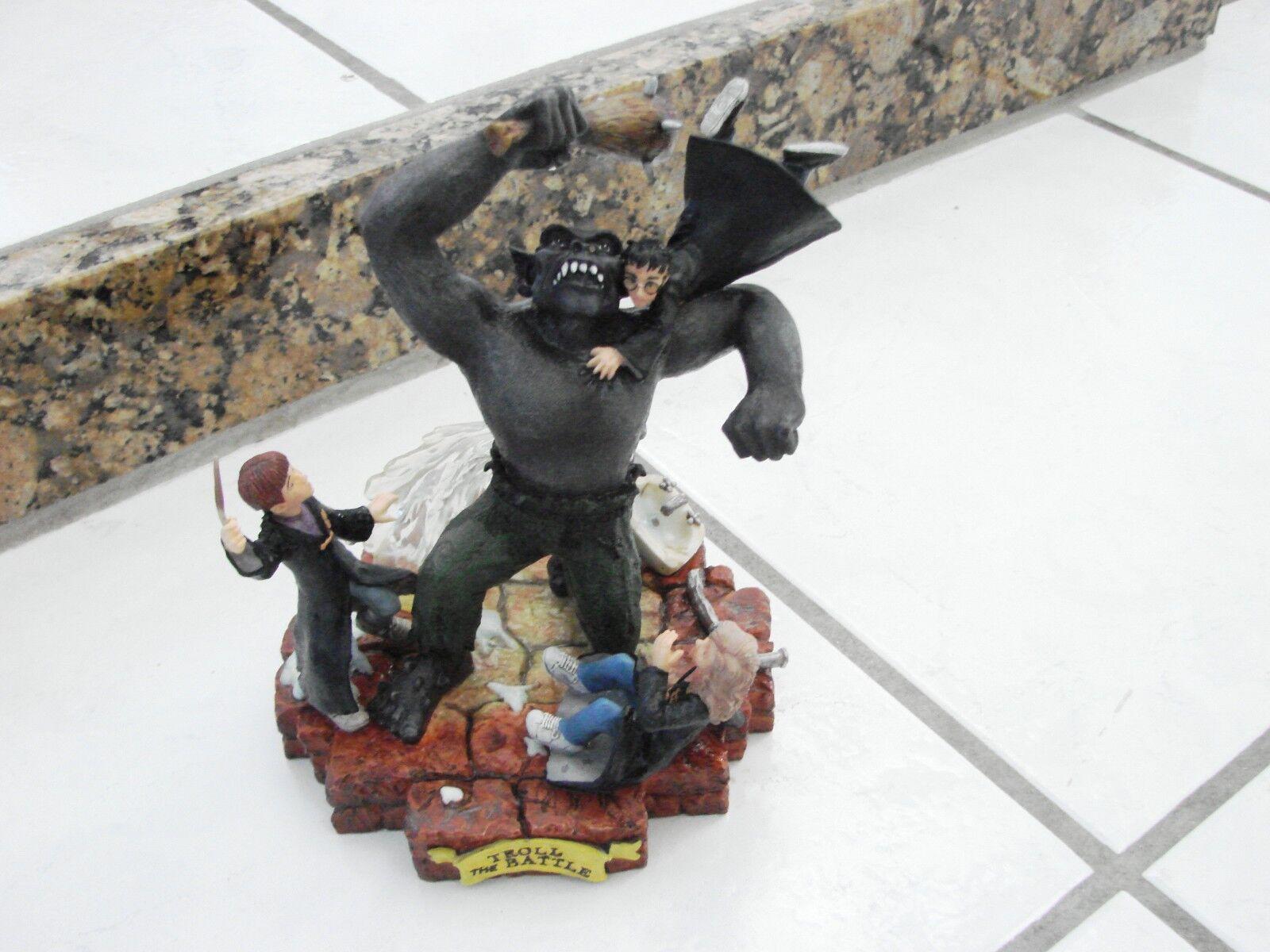 RARE  Harry Potter & the Sorcerer's Stone Statue Troll The Battle Enesco