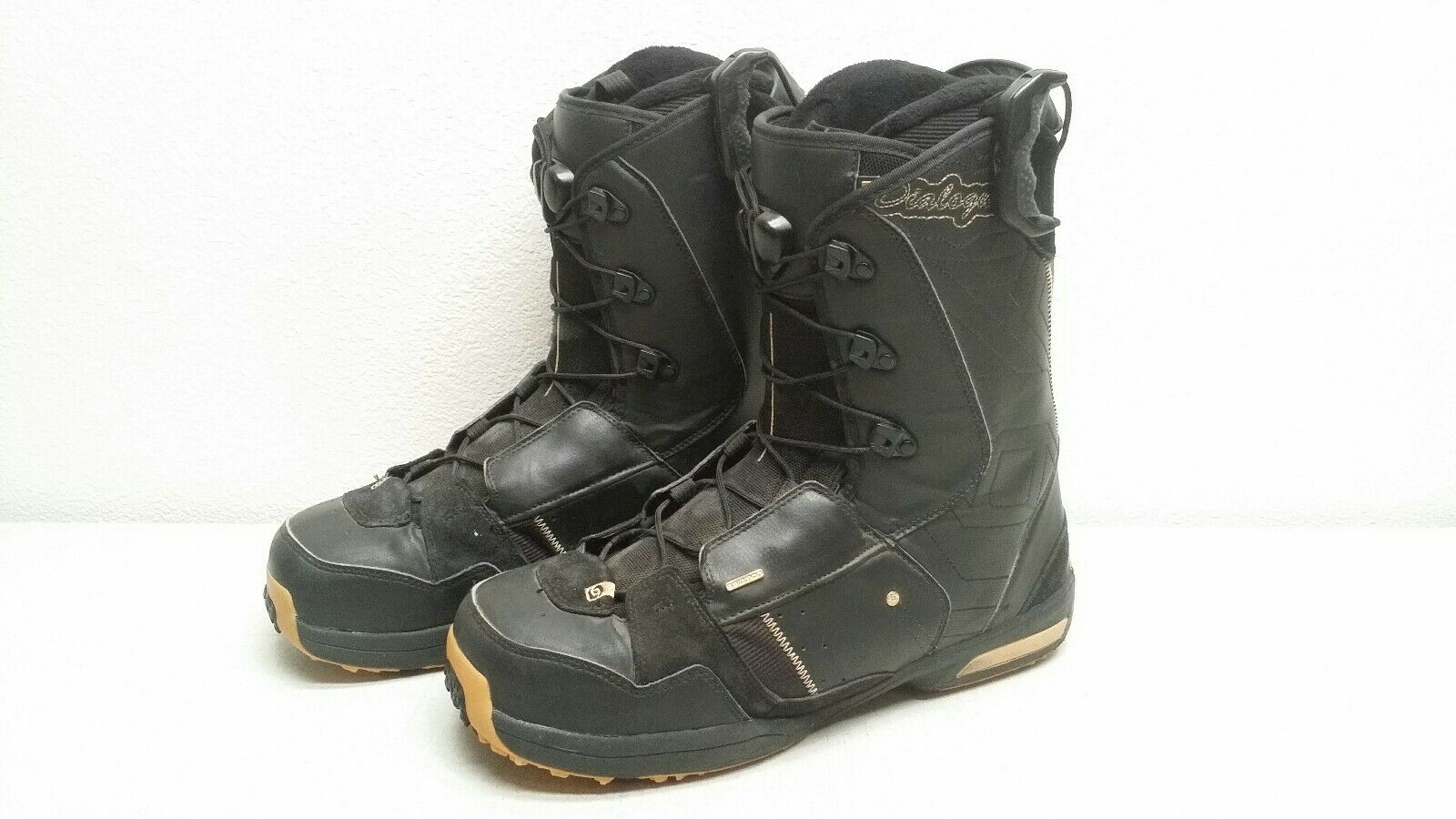 Men's Salomon  Dialogue Snowboard Boots Size US 14.5 used  at the lowest price