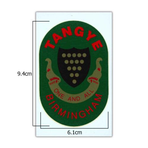Transferencia de motor estacionario-Tangye-Pequeño