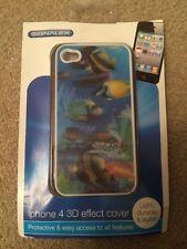 3D Marine Fish Iphone 4 4s phone case - brand new