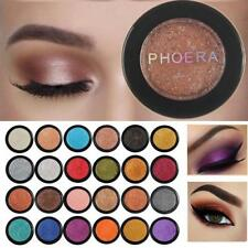 Women PHOERA Glitter Shimmering Colors Eyeshadow Metallic Eye Cosmetic Charm