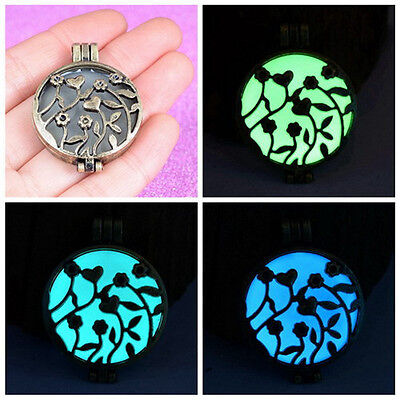 Vintage Luminous Punk Hollow Fairy Magical Love Glow In The Dark Necklace Hot