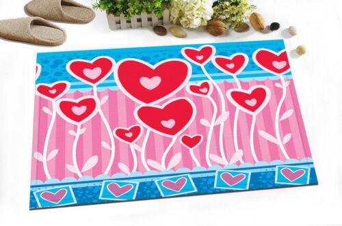 Abstract 15x23/'/' Kitchen Bathroom Home Floor Rug Carpet Non-Slip Bath Door Mats