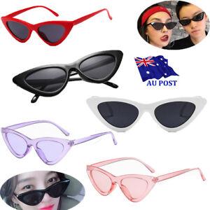 Unisex-Womens-Mens-Retro-Vintage-Cat-Eye-Round-Glasses-Fashion-Sunglasses-MN