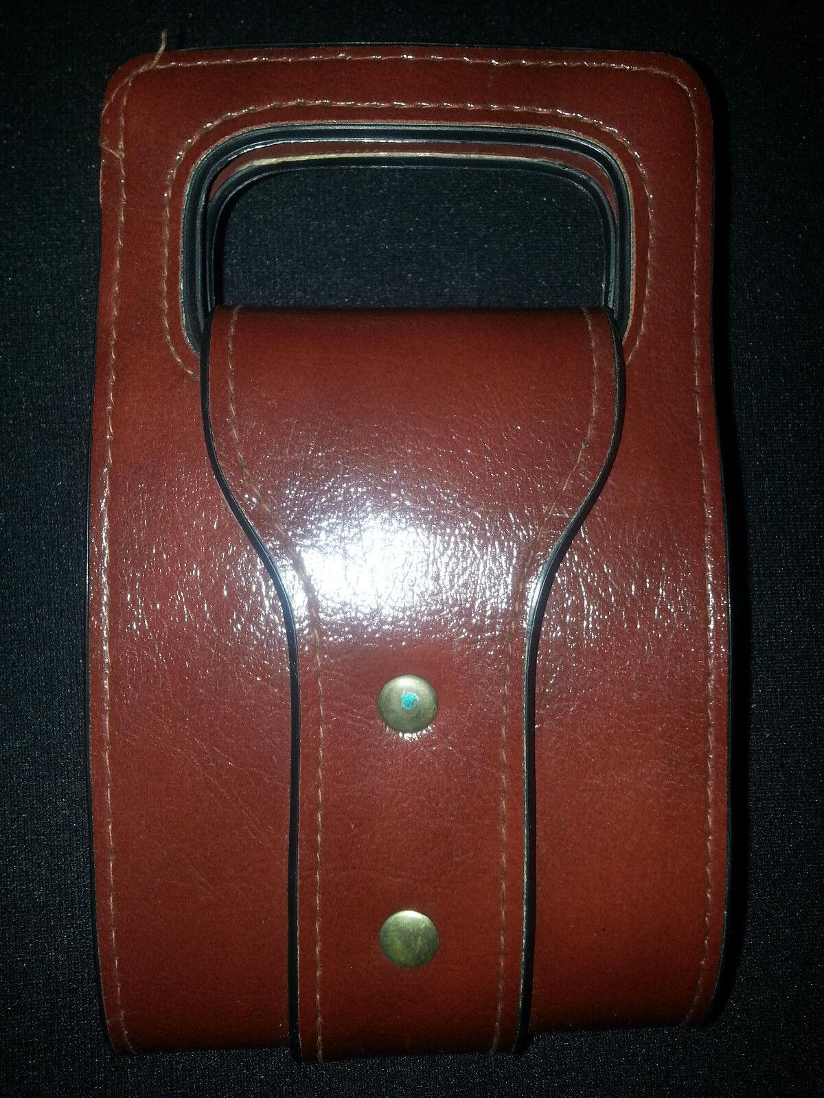 NWOT Vintage 1972-72 Brown Bifold Clutch Wallet Purse Handbag Size 7X4 Pictures
