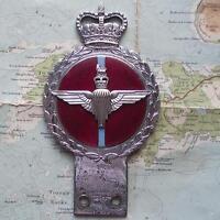 Original Vintage Car Mascot Badge British Army Parachute Regiment by Gaunt