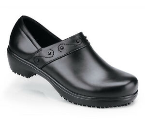 Enthusiastic Sfc Shoes For Crews Iris Cuero Negro Mujer Zapatos 9072 Talla 9.5/41 Wide Varieties Comfort Shoes Clothing, Shoes & Accessories