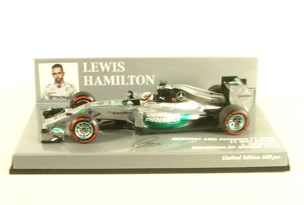 MERCEDES AMG Petronas f1 Team w05 ibrida no. 44 Malaysian GP WINNER 2014  Lewis H