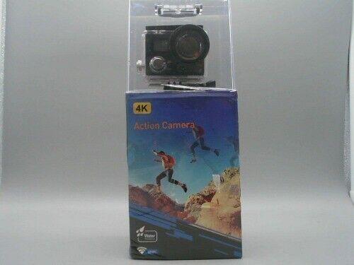 POSIVEEK OY500T Action Camera, Touch Screen 4K 16MP WiFi Ultra HD Waterproof 16mp action oy500t posiveek screen touch ultra waterproof wifi