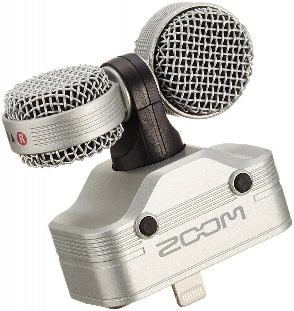 NEW ZOOM iQ7 MS Stereo Microphone for iPhone iPad Free shipping Japan
