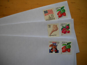 50 #10 stamped pull seal envelopes 55 c postage forever rate $27.50 face value