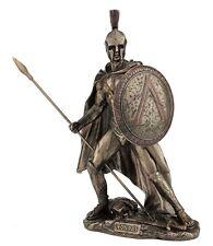 """10.5"""" Leonidas Greek Warrior King Statue Sculpture Figurine Spartan Decor"""
