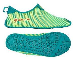 BALLOP-Schuhe-034-Skin-Fit-Ray-green-034-Kinder-28-39-Barfussschuh-Spandex-Kids