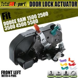 Front Left Door Lock Actuators Door Latch Replacement Fits for 2003-2008 Dodge Ram 1500 2003-2010 Dodge Ram 2500 2008-2010 Dodge Ram 4500 2008-2010 Dodge Ram 5500 2010 Ram 2500 931-636