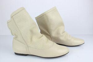 BOTTINE EN CUIR «Zara» T : 38 EUR 45,00 | PicClick FR