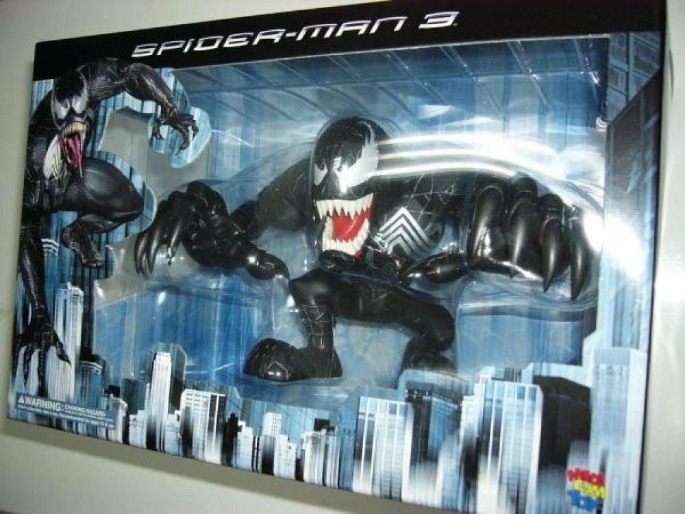 Spiderman 3 Spider-Man Venom Blister VCD Figure Medicom Toy Japan Import