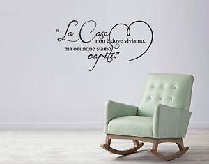 Adesivi Murali Low Cost.Adesivi Murali Welcome Casa Decorazioni Da Parete Wall Stickers