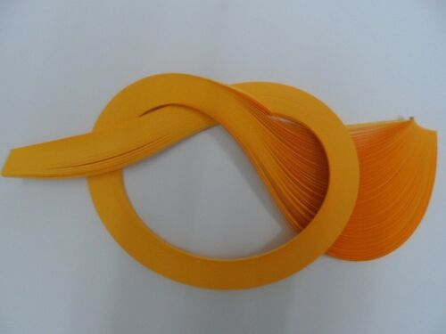 100 strips Gold Quilling Paper 5mm