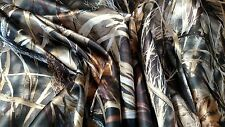 """Realtree Max 4 HD Bridal Satin Camo Fabric 58""""W By The Yard Camouflage Hunting"""