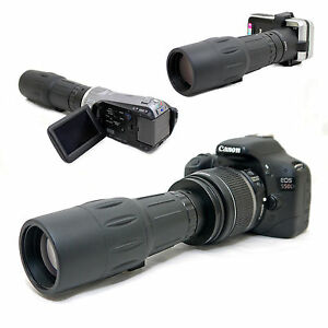 10x-42-1000mm-Telescope-for-Canon-EOS-Rebel-XSi-450D-Kiss-X2-EF-s-18-55mm-Lens