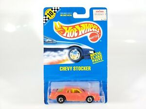 Hot-Wheels-Chevy-Stocker-170-Speed-Points-Blue-Card-NEW-NOC-w-Protecto