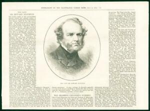 1874-Antique-PORTRAIT-Print-Howard-Staunton-Chess-Player-69