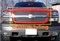 For 0305 Chevy Silverado 1500 / 03-04 2500 3500 Avalanche Billet Grille Cutout