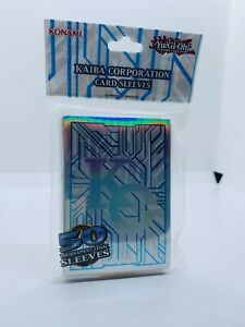 YUGIOH-Kaiba-Corporation-Motiv-Hullen-Sleeves-50-Stuck-Neu-OVP