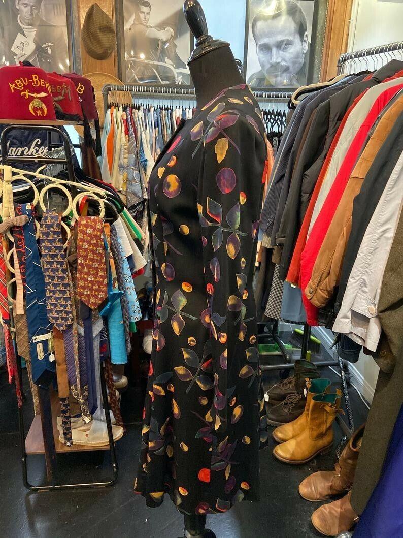 Gorgeous Rare Pauline Trigere 1970s/80s Dress wit… - image 3