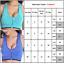 Womens Zip Front Fastening Sports Bra Underwear Medium High Impact Yoga Gym