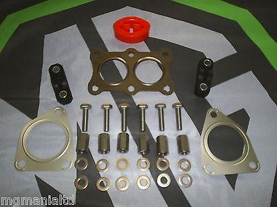EMG016 EXHAUST GASKET MG MGF MGTF MGZR MGZS MGZT GASKET BLG66 3 BOLT