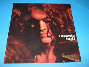 Riccardo Fogli Ciao Amore Come Stai Promo Originale Ebay
