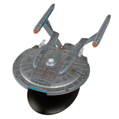 Eaglemoss - star trek -  enterprise (nx verstaut) model