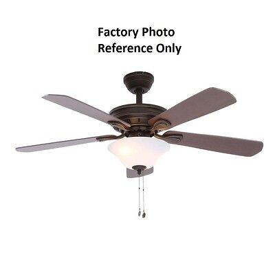Hampton Bay Wellston 44 In Oil Rubbed Bronze Ceiling Fan