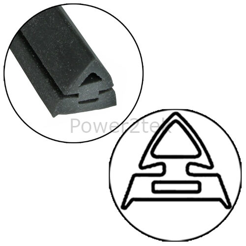 AEG Oven Cooker Door Seal Gasket /& Square Corner Fixing Clips Silicone NEW