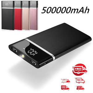 2019-New-Portable-External-Battery-Huge-Capacity-Power-Bank-500000mAh-Charger