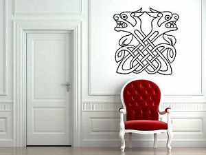 Wall-Room-Decor-Art-Vinyl-Sticker-Mural-Decal-Ancient-Tatto-Celtic-Symbol-FI877