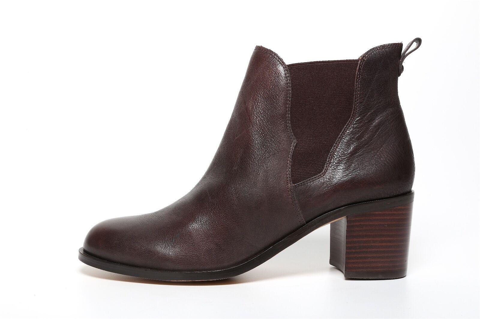 Sam Edelman Women's Brown Slip On Ankle Booties 2120 Size 10.5 M