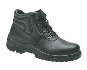 sicurezza in 16 Grafters M5501a pelle in Stivali Puntale Uk4 da lavoro di uomo acciaio neri da aZEXwqEU